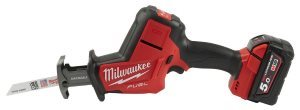 Milwaukee® Develops the First Brushless, 18V One-Handed Reciprocating Saw