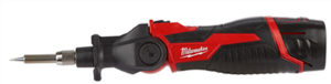 Milwaukee® Announces the First Lithium-Powered Soldering Iron in a Cordless Tool System Solution
