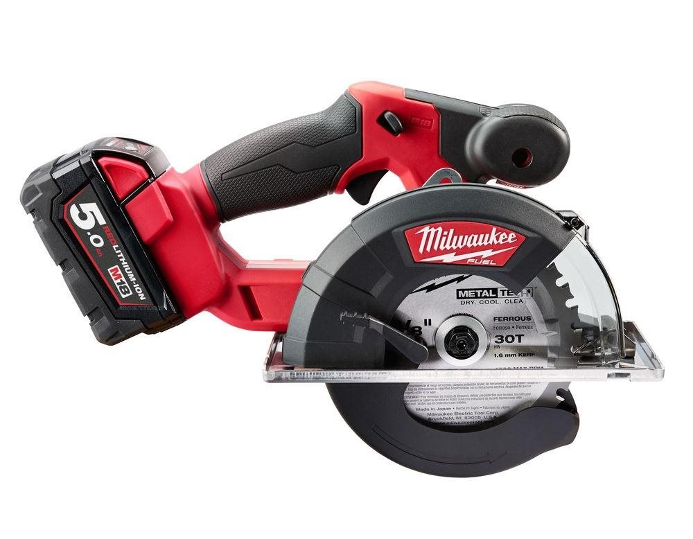 Milwaukee® Introduces the Industry's Fast-Cutting Cordless Metal Circular Saw