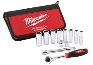 "Milwaukee® Introduces The Tradesman ⅜"" Ratchet Set"